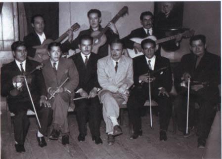Arguedas y el Conjunto Musical Centro Musical Andino