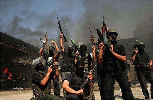 Militantes del Hamas