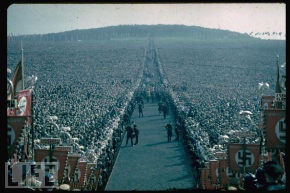 Manifestación en Munich en 1937