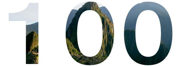 Machu Picchu, 100 años